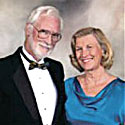 Photo of John Dillingham and Joan Grasty. Link to their story.